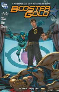 Booster Gold. Vol. 2 - Geoff Johns,Jeff Katz,Dan Jurgens - copertina