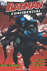 Libro Regole d'ingaggio. Batman confidential. Vol. 1 Andy Diggle , Whilce Portacio , Richard Friend