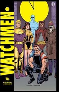 Watchmen - Alan Moore,Dave Gibbons - copertina