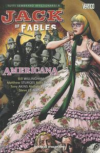 Americana. Jack of fables. Vol. 4 - copertina