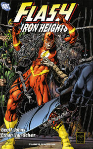 Flash iron heights - Geoff Johns - copertina