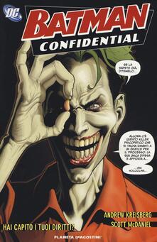 Hai capito i tuoi diritti. Batman confidential. Vol. 5.pdf