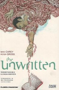 The unwritten. Vol. 1 - Mike Carey,Peter Gross - copertina