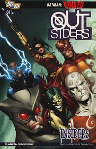 Outsiders. Vol. 1: Insiders. - Peter Tomasi,Lee Garbett,Fernando Pasarin - copertina