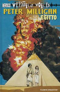 Egitto - Peter Milligan - copertina
