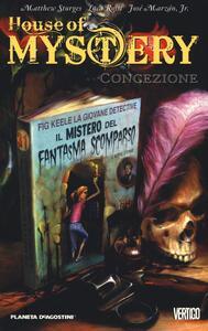 Concezione. House of mystery. Vol. 7 - Matthew Sturges,Luca Rossi,José jr. Marzan - copertina