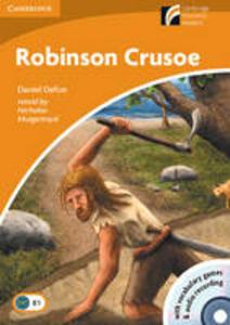 Robinson Crusoe. Con CD Audio. Con CD-ROM