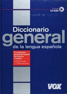 Diccionario general lengua española. Con CD-ROM - copertina