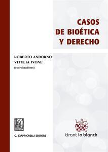 Casos de bioética y derecho - copertina