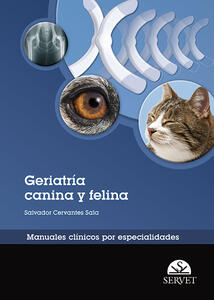 Geriatría canina y felina. Manuales clínicos por especialidades - Salvador Cervantes Sala - copertina