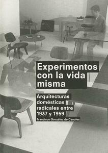 Experimentos con la vida misma - Francisco González de Canales - copertina