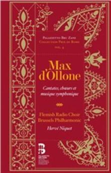 Cantate (+ Libro) - CD Audio di Max d'Ollone