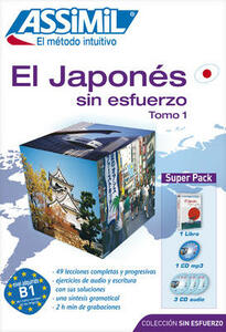 Japonés sin esfuerzo (El). Con 4 CD Audio. Con CD Audio formato MP3 - Catherine Garnier,Mori Toshiko - copertina