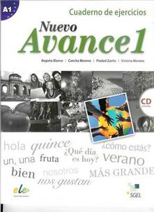 Antondemarirreguera.es Nuevo avance. Con CD Audio. Per i Licei e gli Ist. Magistrali. Vol. 1: Ejercicios. Image