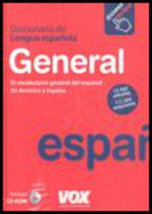 Diccionario general de la lengua espanola. Con CD-ROM. Con aggiornamento online