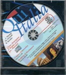 Qui Italia. CD - copertina
