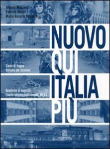 Listadelpopolo.it Nuovo Qui Italia più. Corso di lingua italiana per stranieri. Quaderno per lo studente Image