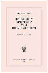 Heroidum epistula VIII. Hermione Oresti
