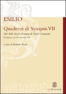 Foto Cover di Quaderni di Synapsis. Vol. 7: L'esilio., Libro di  edito da Mondadori Education
