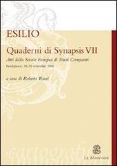 Quaderni di Synapsis. Vol. 7: L'esilio.