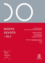 Nuovo Devoto-Oli. Il vocabolario dell'italiano contemporaneo 2019. Con App scaricabile su smartphone e tablet