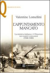 L' appuntamento mancato. La sinistra italiana e il dissenso nei regimi comunisti (1968-1989)