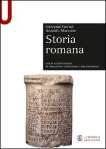 Libro Storia romana Giovanni Geraci , Arnaldo Marcone
