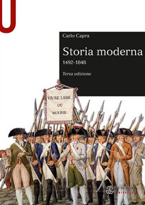 Foto Cover di Storia moderna 1492-1848, Libro di Carlo Capra, edito da Mondadori Education