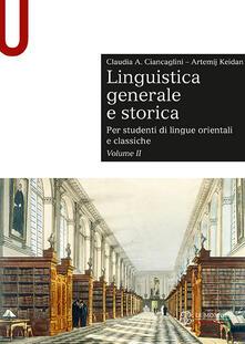Daddyswing.es Linguistica generale e storica. Per studenti di lingue orientali e classiche. Vol. 2 Image