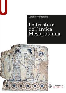 Letterature dell'antica Mesopotamia - Lorenzo Verderame - copertina