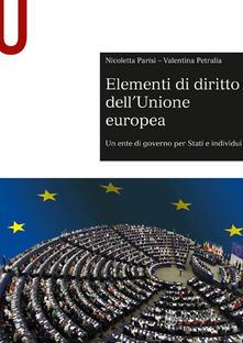 Premioquesti.it Elementi di diritto dell'Unione Europea. Un ente di governo per stati e individui Image