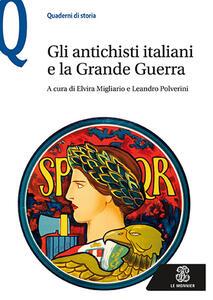 Gli antichisti italiani e la grande guerra - copertina