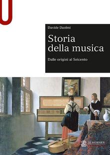 Storia della musica - Davide Daolmi - copertina