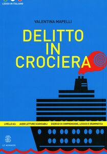 Libro Delitto in crociera Valentina Mapelli