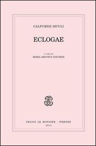 Libro Eclogae Siculo Calpurnio
