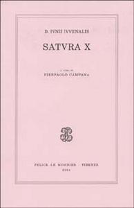 Libro D. Iunii iuvenalis satura X D. Giunio Giovenale