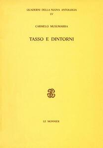 Tasso e dintorni - Carmelo Musumarra - copertina