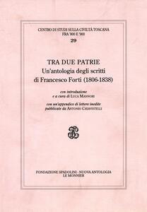 Antologia di scritti di Francesco Forti - copertina