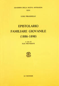 Epistolario familiare giovanile (1886-1898)