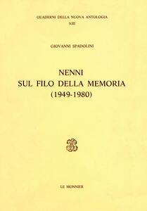 Nenni sul filo della memoria (1949-1980)