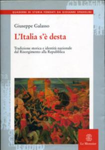 L' Italia s'è desta - Giuseppe Galasso - copertina