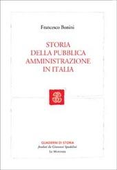 Storia della pubblica amministrazione in Italia