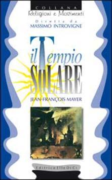 Il tempio solare - Jean-François Mayer - copertina