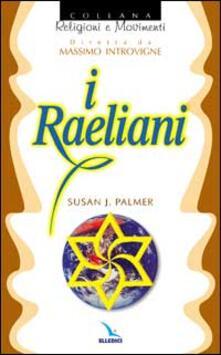 I raeliani - Susan J. Palmer - copertina
