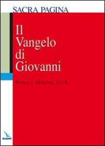 Il vangelo di Giovanni - Francis J. Moloney - copertina