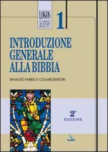 Introduzione generale alla Bibbia - Rinaldo Fabris - copertina