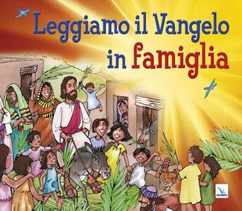 Leggiamo il Vangelo in famiglia - copertina