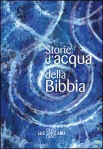 Storie d'acqua della Bibbia - copertina