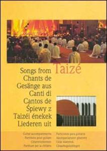 Canti di Taizé. Partiture per la chitarra - copertina