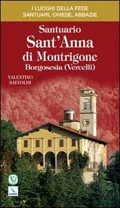 Santuario sant'Anna di Montrigone. Borgosesia (Vercelli) - Valentino Salvoldi - copertina
